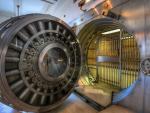 vintage bank vault hdr