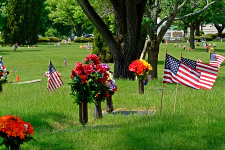 Bless The Fallen - Bless The Fallen, memorial day, american flag, flag and flowers, patriotism