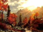 Autumn Forest Mountains
