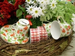 daisies and teacups