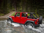 JEEP WRANGLER RED COLOUR