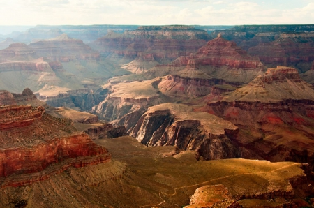GRAND CANYON - LANDSCAPE, GRAND, CANYON, NATURE