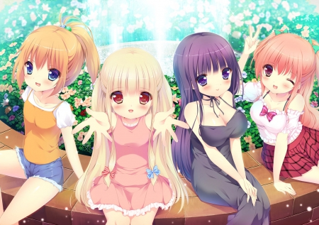 Happy Friends Other Anime Background Wallpapers On Desktop Nexus Image 1763985