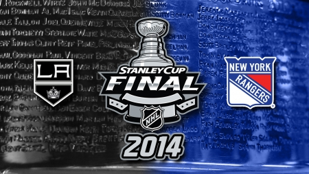 2014 Stanley Cup Finals - Kings, Stanley Cup, NYR, NY, Hockey, New York, Los Angeles, NHL, 2014, Rangers, LA