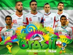 IRAN  WORLD CUP 2014 WALLPAPER