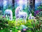 Sunset Unicorns