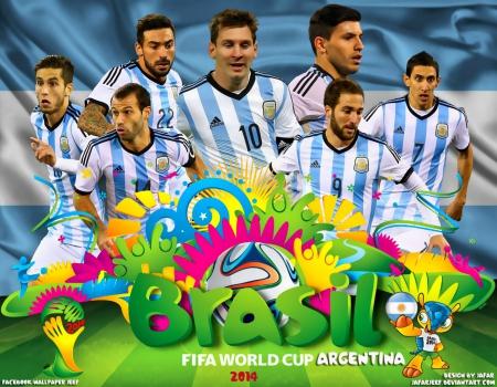 ARGENTINA WORLD CUP 2014 WALLPAPER