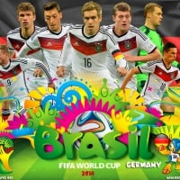GERMANY WORLD CUP 2014 WALLPAPER