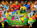 FIFA WORLD CUP 2014 WALLPAPERS