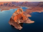 Stone Castles In Lake Powell