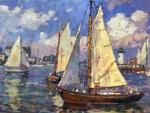 Edgartown Sailboats 1