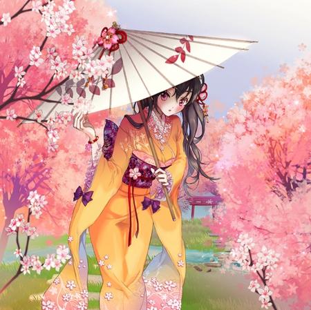 Spring Kimono