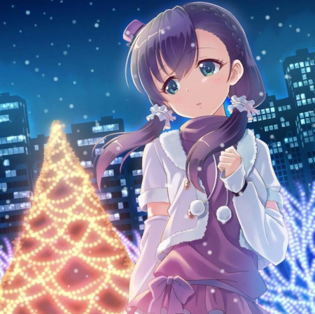 Lonely Christmas - Other & Anime Background Wallpapers on Desktop ...