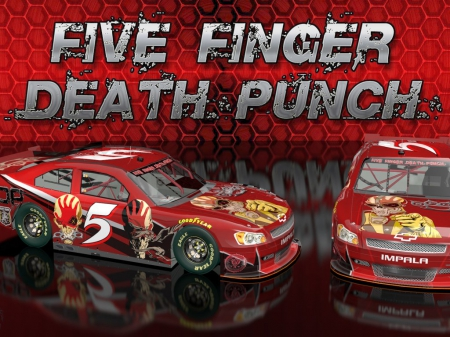 Five Finger Death Punch - cars, auto, custom, hot rods