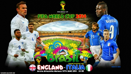ENGLAND - ITALY WORLD CUP 2014 - world cup 2014 wallpaper, italia wallpaper, rooney, puma, rooney wallpaper, Arena Amazonia Manaus, Daniel Sturridge, nike, balotelli, football, italy, andrea pirlo wallpaper, manchester united, world cup wallpaper, juventus, mario balotelli wallpaper, world cup brazil 2014wallpaper, Steven Gerrard, England, Steven Gerrard wallpaper, world cup 2014, liverpool, fifa world cup, pirlo