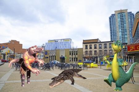 gator day at rose square Brampton Ontario Canada - Other