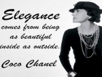 Elegance comes from