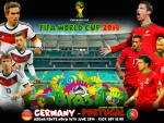 GERMANY - PORTUGAL WORLD CUP 2014