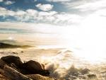 Bright Sea Sunrise