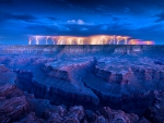 Wild Electrical Storm, Grand Canyon