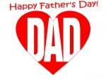Fathers Day Heart
