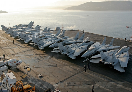 Gruman F14D Tomcat - Military & Aircraft Background
