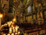 superb church interior hdr