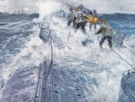 U-boat-surface-action-WWI