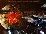 'Space battle'......