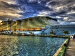 amazing oasis of the sea cruise ship hdr