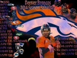 Denver Broncos 2014 Schedule