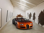 bugatti veyron is a work of art