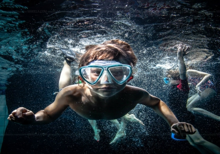 ~ Under Water Session ~ - water, Flippers, Swimming, goggels