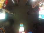 Times Square NYC at Night. (Gopro) HD