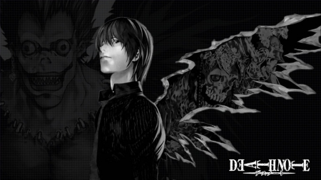 death note - smiles, winged, images, angelic