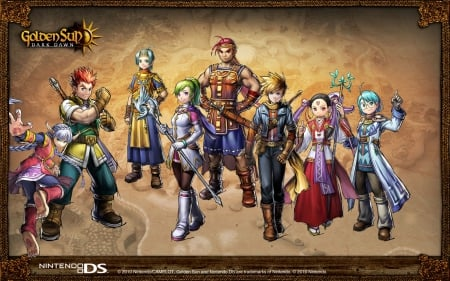 Golden Sun Dark Dawn - golden, sun, dark, game, dawn