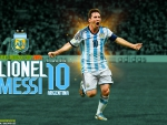 LIONEL MESSI ARGENTINA WORLD CUP 2014 WALLPAPER