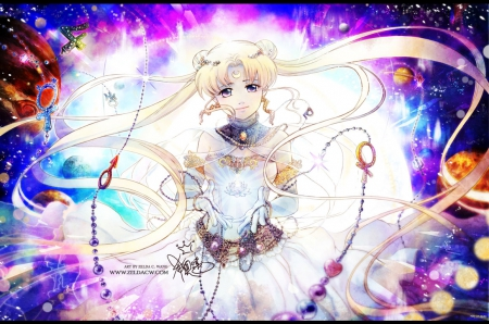 Moon Gem - pretty, adorable, magic, sweet, nice, e, anime, sailor moon, beauty, anime girl, gems, long hair, lovely, twintail, blonde, abstract, jewelry, serenity, awesome, crystal, blond, beautiful, sublime, twin tail, tsukino usagi, sailormoon, usagi, female, blonde hair, twintails, usagi tsukino, twin tails, princess serenity, blond hair, kawaii, tsukino, girl, magical, princess, angelic