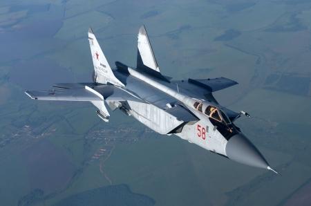 Mig 31 Military Aircraft Background Wallpapers On Desktop Nexus