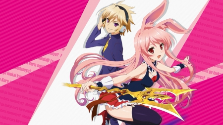 Izayoi and Kurousagi - Mondaiji-tachi Anime Wallpapers and ...  Izayoi and Kuro...