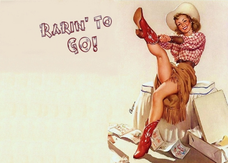 Cowgirl Pin Up Funny Entertainment Background Wallpapers On Desktop Nexus Image 1779679
