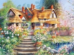 The Perfect Cottage Garden
