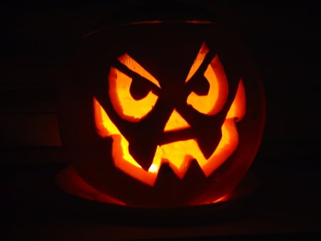 Halloween Pumpkin - irish, angry, celtic, pumpkin, dark, samhain, scarry, halloween