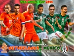 NETHERLANDS - MEXICO WORLD CUP 2014 ROUND OF 16