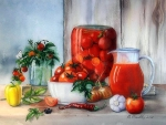 'Still Life with Tomatoes'