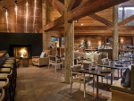 lovely rustic restaurant bar