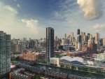 wonderful cityscape of chicago