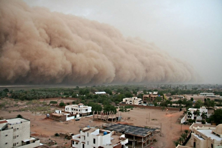 Sand storm - epic, hard, blow, winds