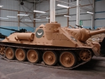 SU 100 tank destroyer