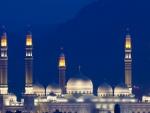 impressive white mosque in yemen